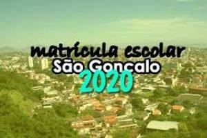 Matrícula Escolar São Gonçalo RJ